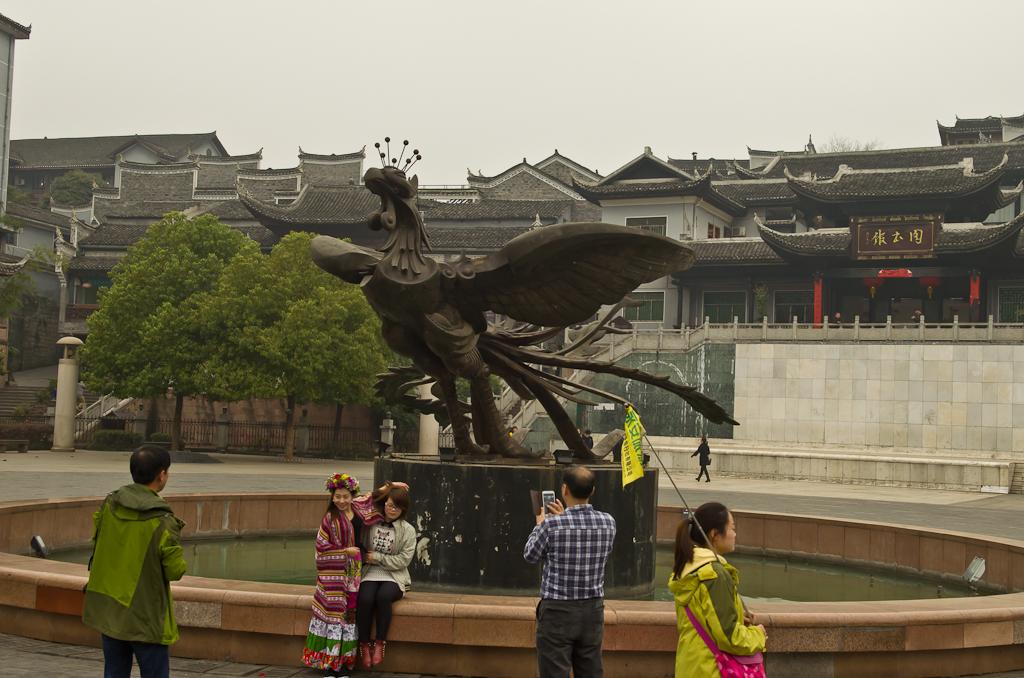 23. Жар-птица - талисман города Фэнхуан (Fenghuang), что в переводе значит - Феникс. Отзывы об отдыхе в Китае.