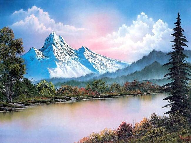 Великолепные пейзажи американского художника Roberta  Normana Ross