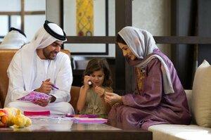 арабские женщины тоже любят мужской стриптиз