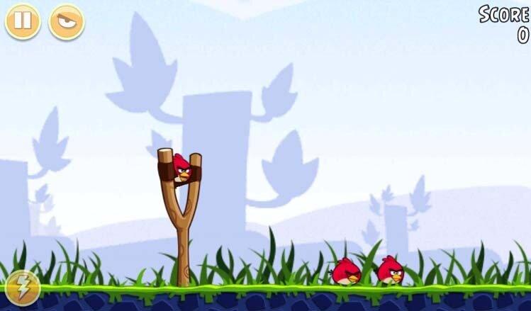 Angry Birds на Samsung Galaxy Tab 3
