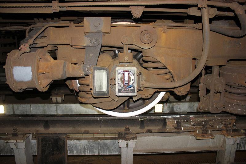 Колесо моторного вагона ЭД4М