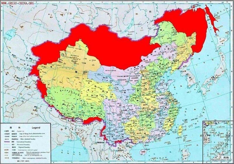 Первая точная карта Китая