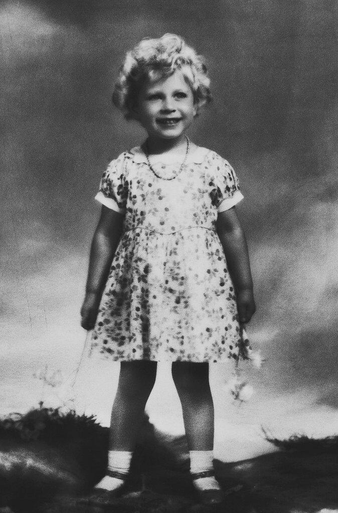 Marcus Adams (1875-1959) HM Queen Elizabeth II (b.1926) when Princess Elizabeth of York  circa 1930