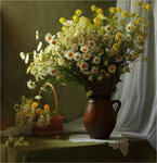 Цветы луговые Автор Tatyana_SK