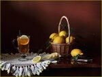 Чай с лимоном Автор Tatyana_SK