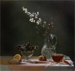 С вишневым цветом Автор Tatyana_SK