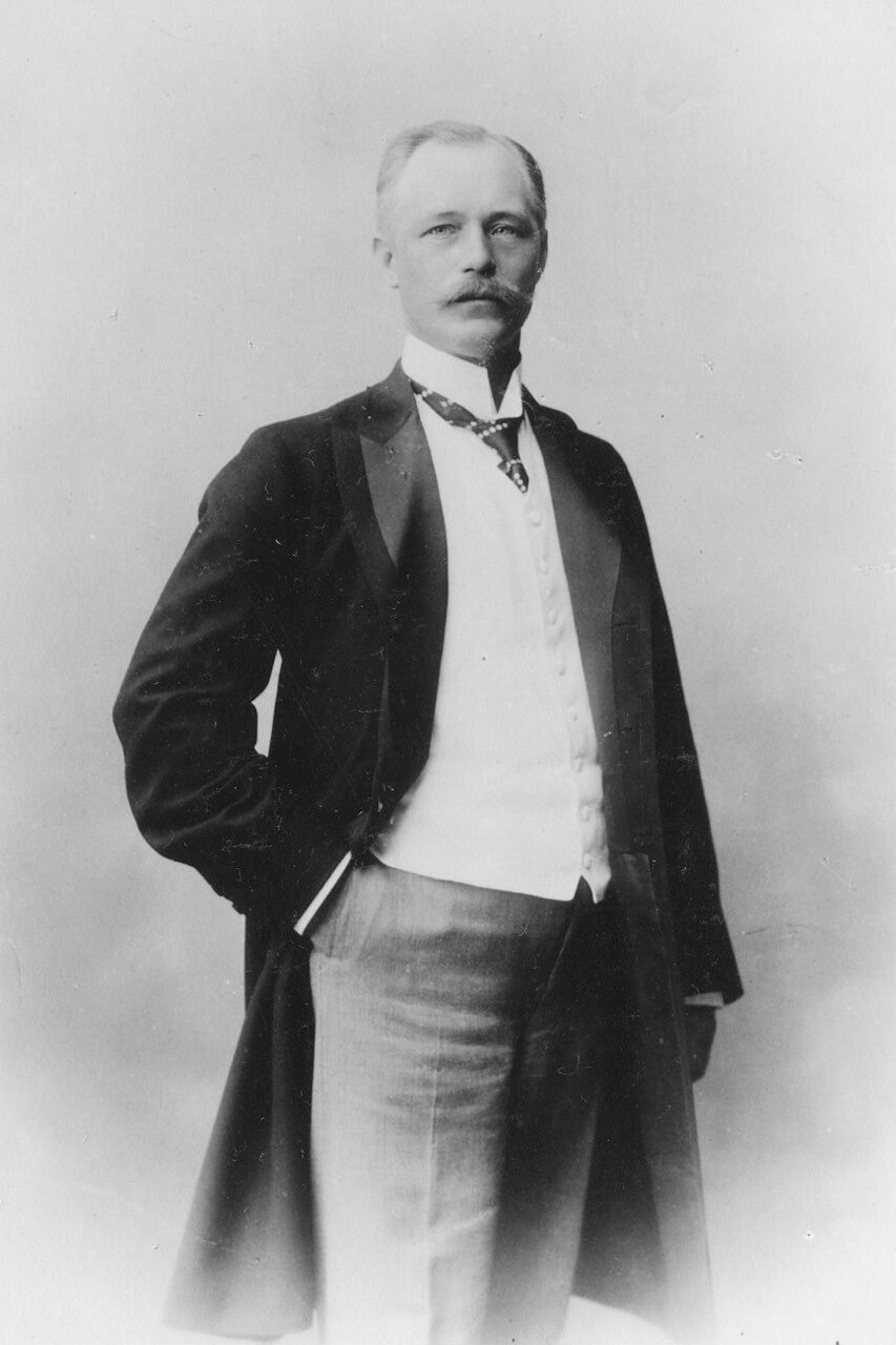 Портрет главного нобелевского управляющего К.Э.Видерстрёма
