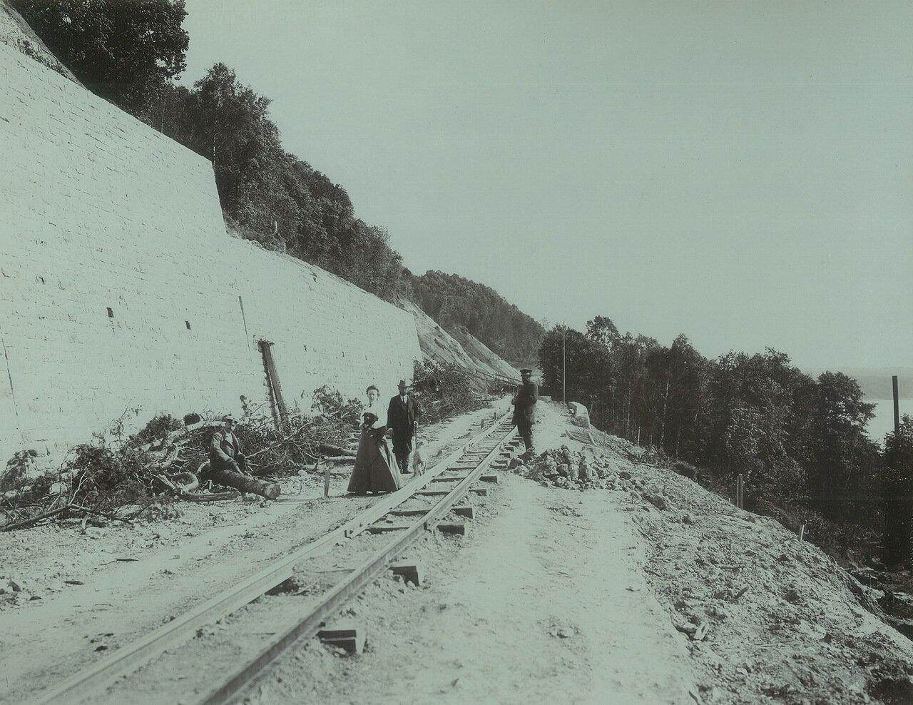 05. Строительные работы на перегоне Мыза - Нижний в пределах Окского косогора