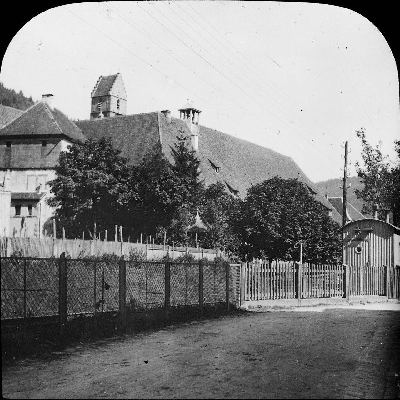 Альпирсбах. Железная дорога. 1908.