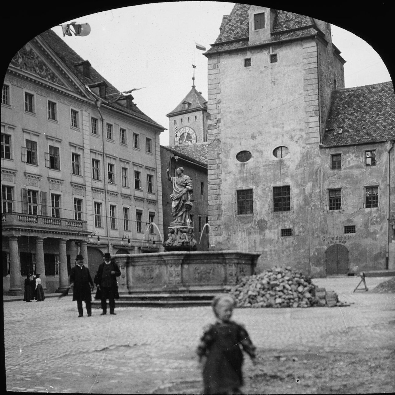 Регенсбург. Фонтан на Гайдплаце. 1906