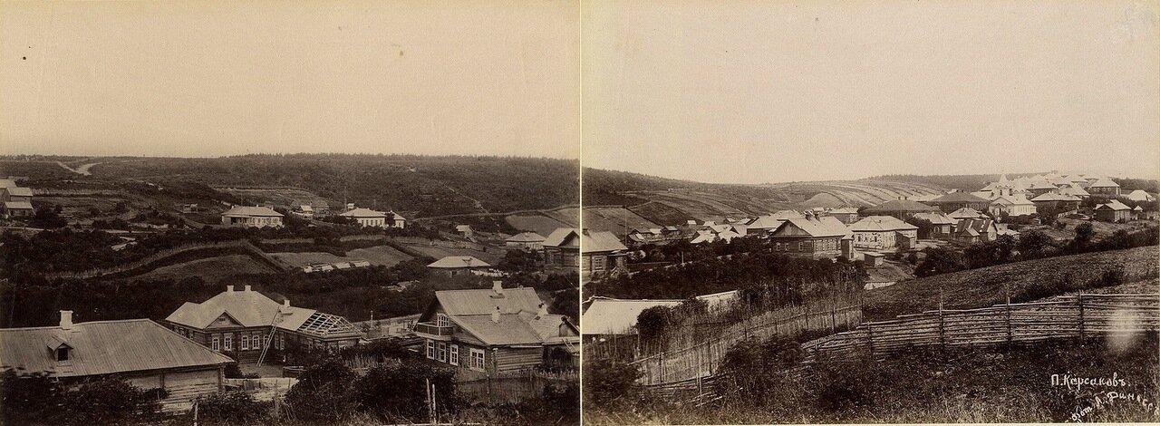1890. Панорама Корсакова на Сахалине