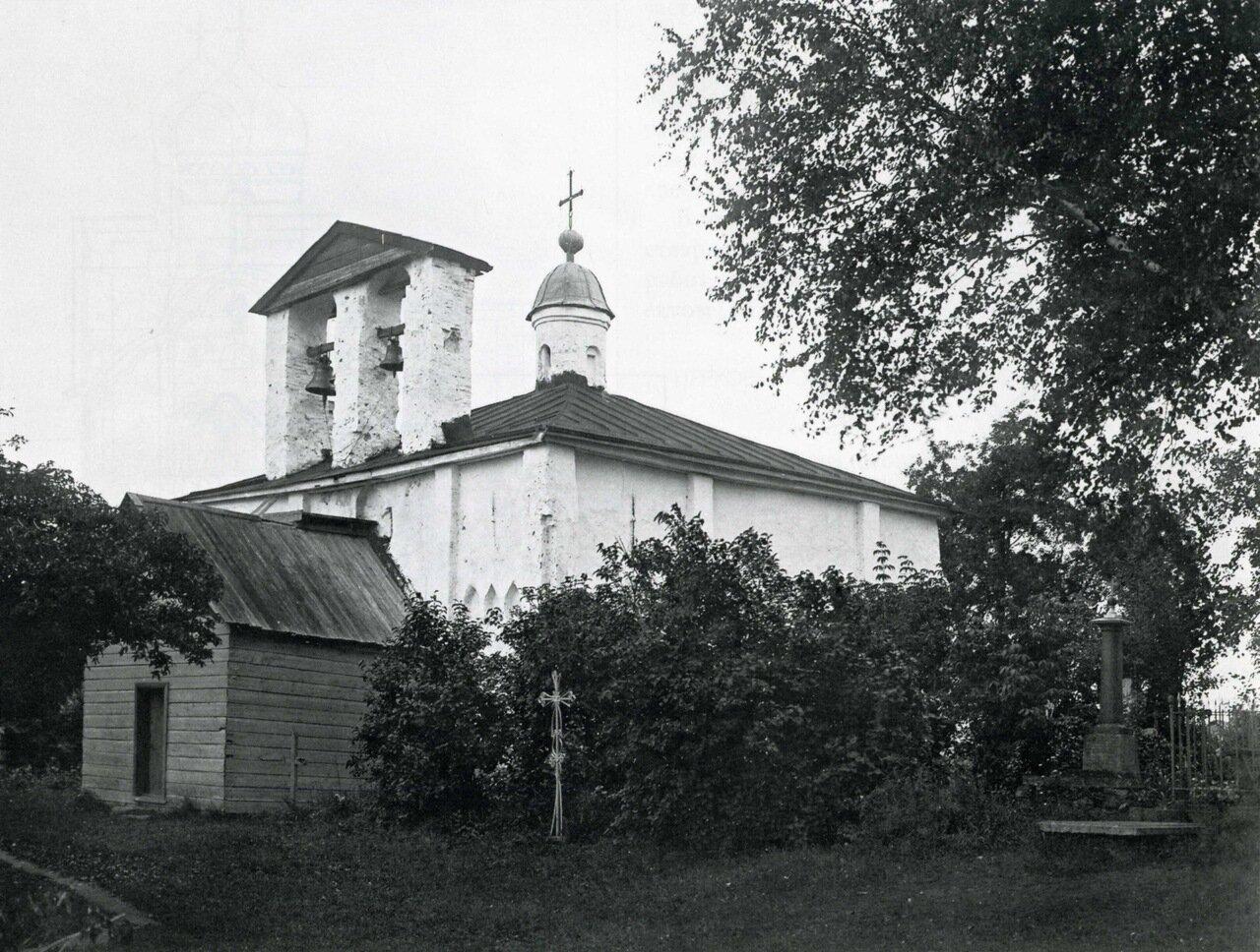 Церковь Иоанна Милостивого на Мячине. Вид с юго-востока
