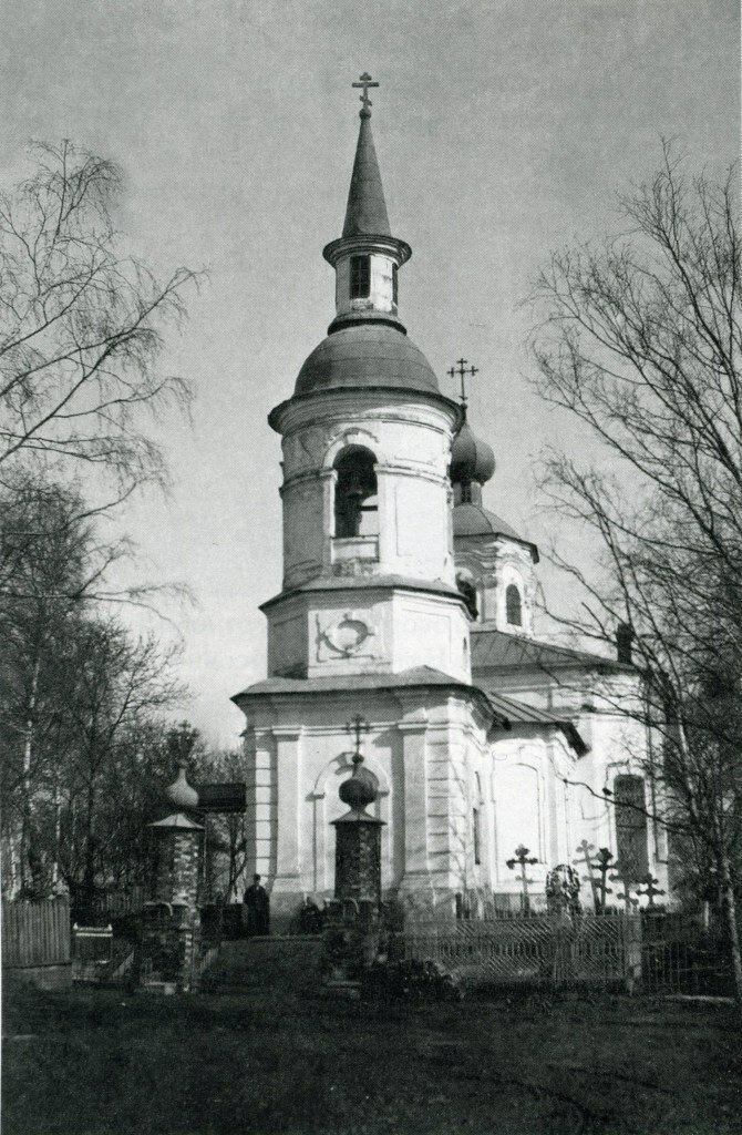 Церковь Николая Чудотворца монастыря Рождества Христова на Красном поле