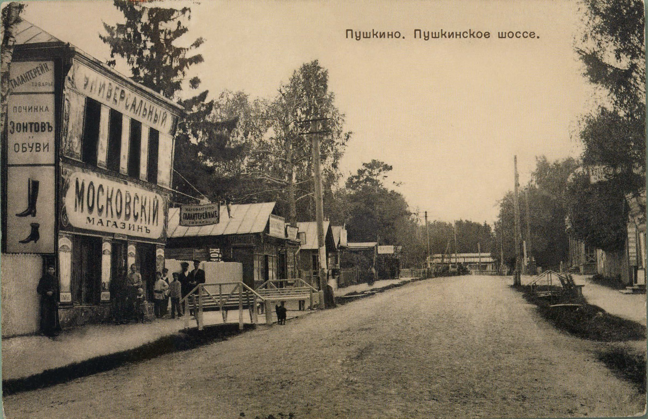 Окрестности Москвы. Пушкино. Пушкинское шоссе