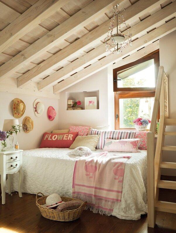 Дизайн комнаты для дачи своими руками 59