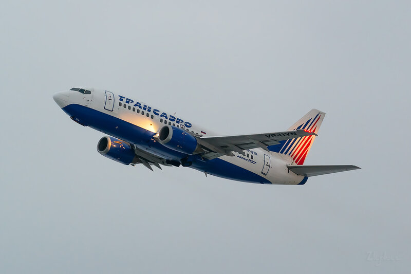 Boeing 737-524 (VP-BYN) Трансаэро D803540