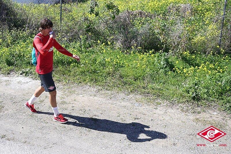 «Спартак» занимается на сборе в Испании (Фото)