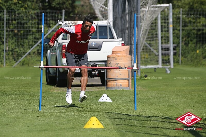 «Спартак» тренируется в Швейцарии