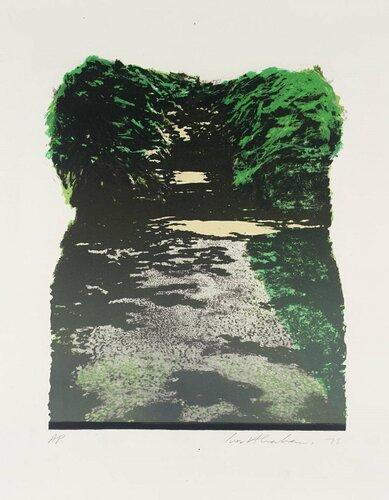 Pathways VI 1975 by Ivor Abrahams born 1935
