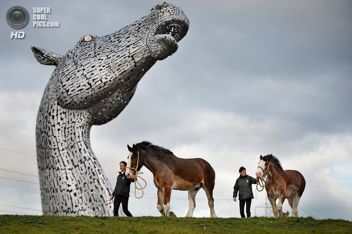 Completion Of The World's Largest Of Equine Sculptures