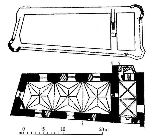 План капеллы