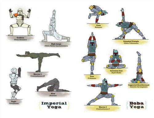 Уроки йоги от «Звёздных войн»