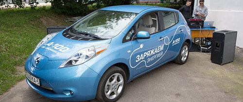 В Белоруссии будут установлены станции для подзарядки электроавтомобилей