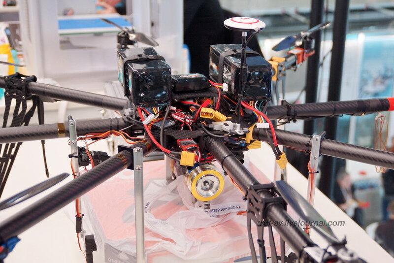 БПЛА компании Коптер Экспресс, Конференция и выставка Skolkovo Robotics 2014