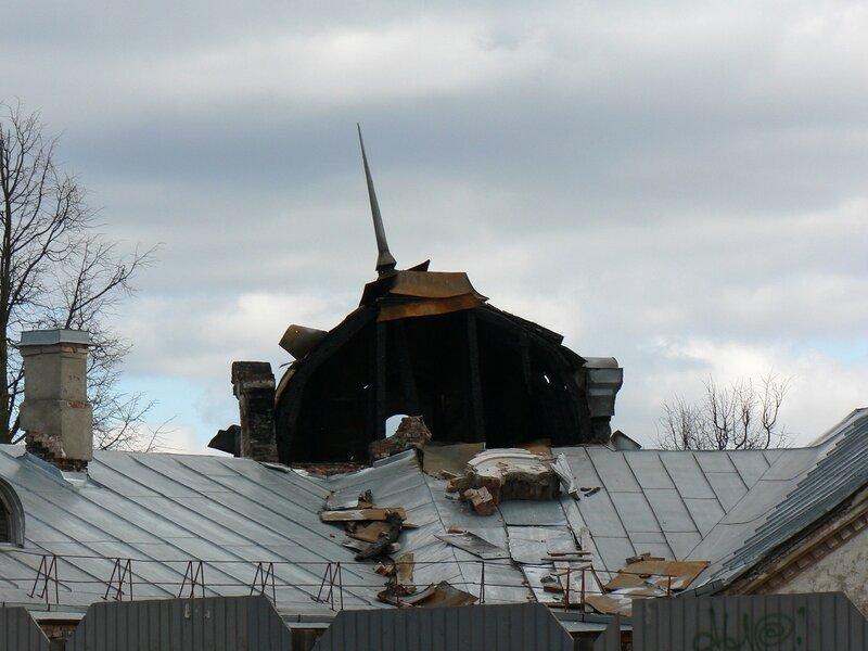 Дом Батова в Пскове. Май 2007