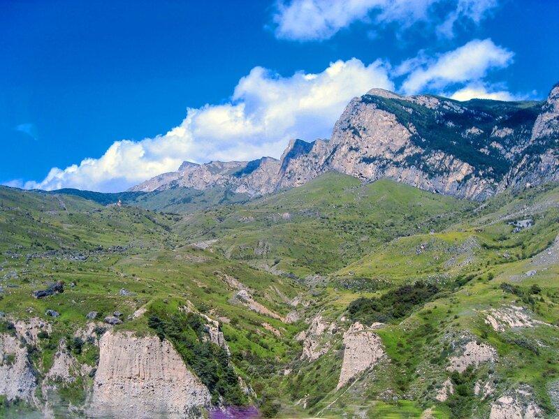 Северная Осетия: Чикола, Ахсинта, Мацута - ущелье реки Урух - Реки, Достопримечательности, Горы, Водопады - ossetia, russia, kavkaz