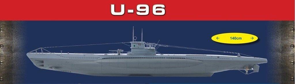 Подводная лодка U-96 (масштаб 1:48) - Hachette Коллекция - тест
