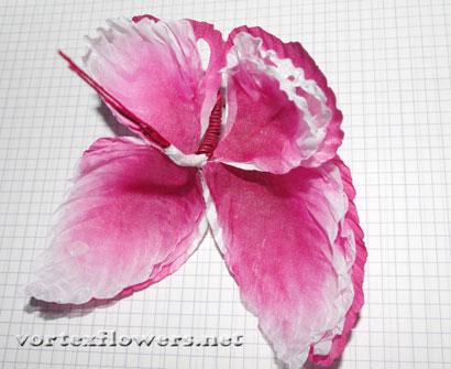 Как сделать бабочку из ткани