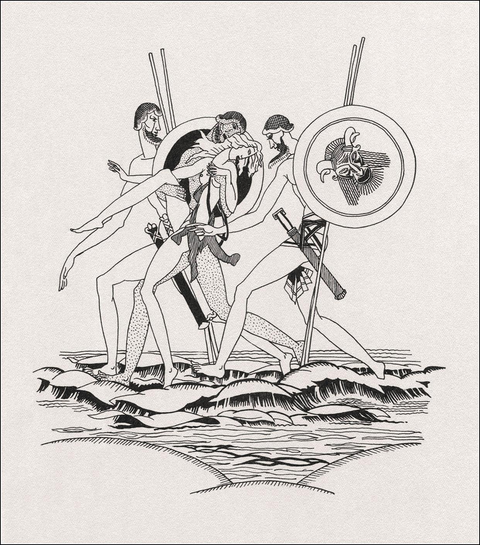 John Austen. Daphnis and Chloe