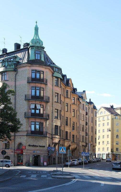 Stockholm. Стокгольм. Upplandsgatan