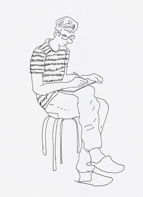 Зарисовки с натуры (14, 16, 17 февраля 2014)