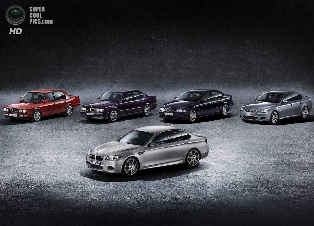 Самый мощный M5 в истории BMW