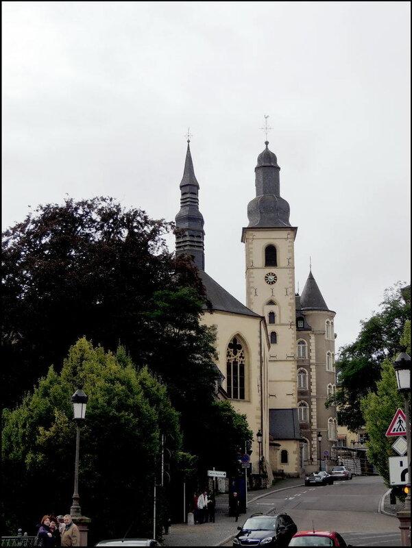 Luxembourg 8633 Église Saint-Michel