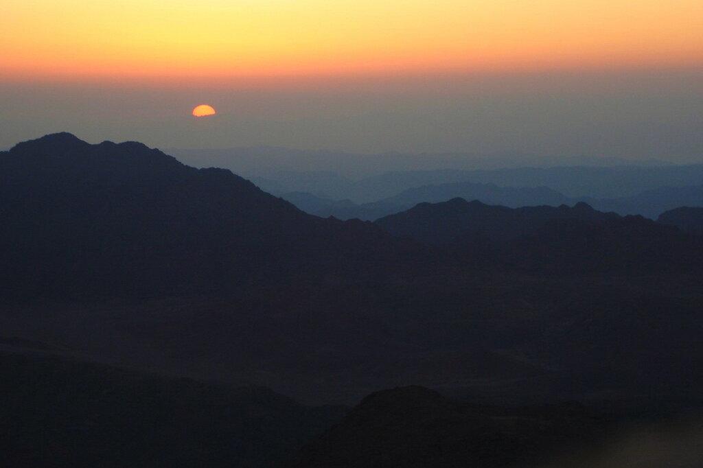 Фотография 4. Встречаем рассвет на горе Моисея (гора Хорив). Отзыв о восхождении