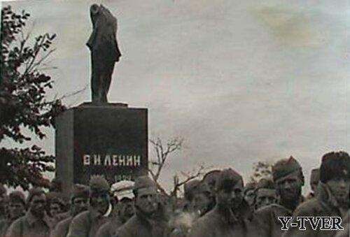 Торопецкий Ленин был обезглавлен в войну
