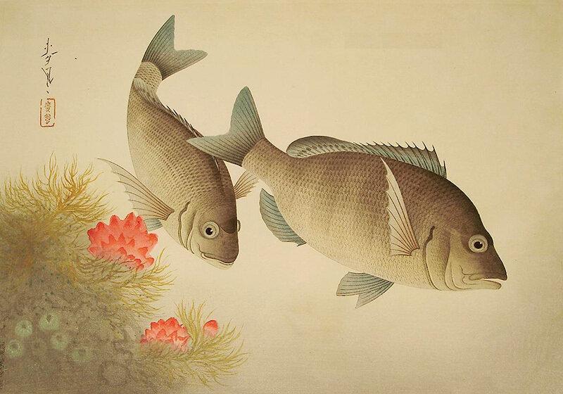 Японский художник Бакуфу Оно (Bakufu Ohno)