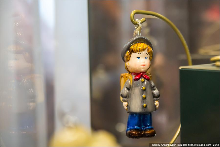 Елочные игрушки из детства