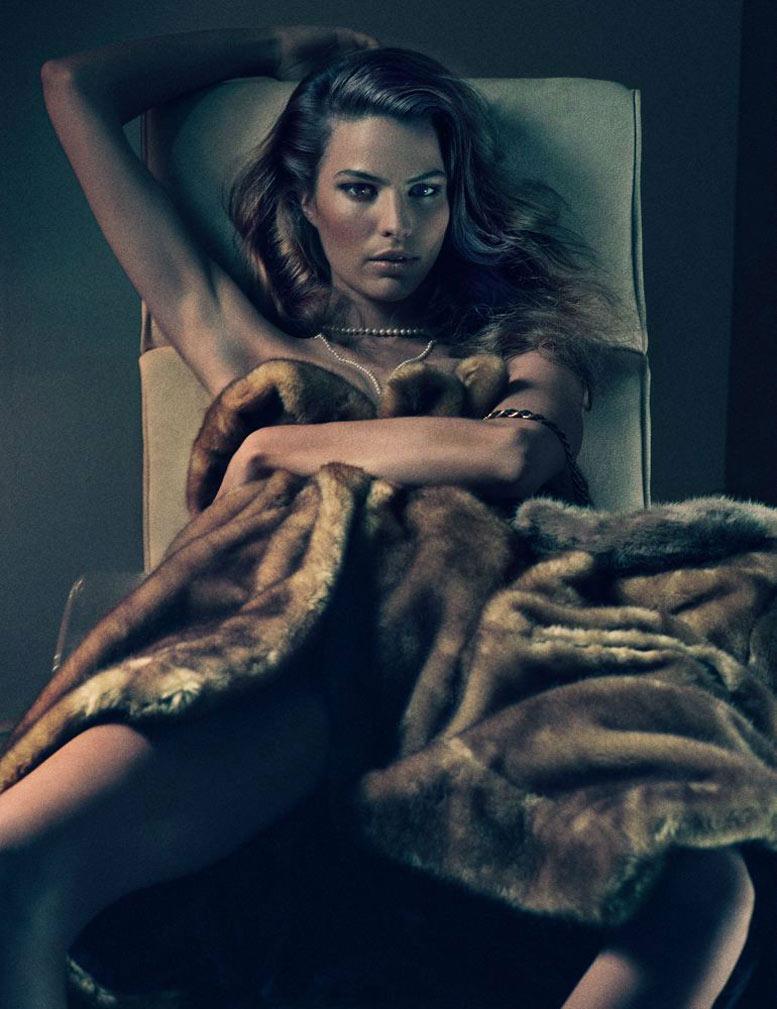Богини и их сексуальность / Cameron Russell - The Goddesses by Fabien Baron