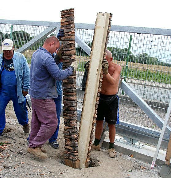 Изготовления бетонных столбов своими руками