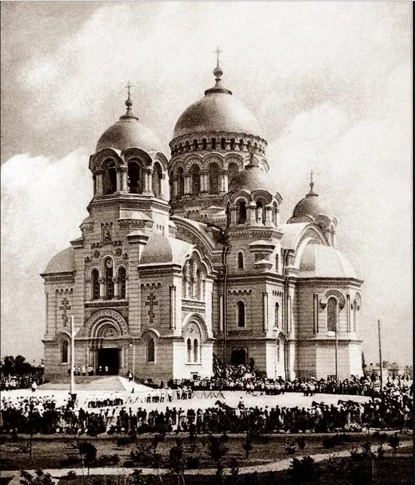 Освящение Вознесенского войскового собора