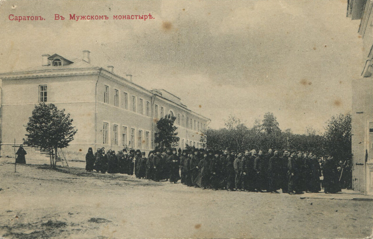 В мужском монастыре