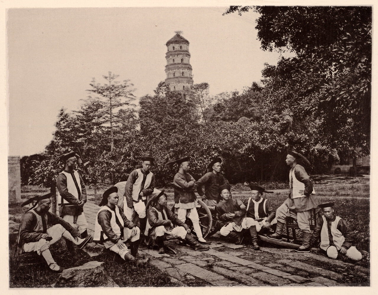 Татарские солдаты