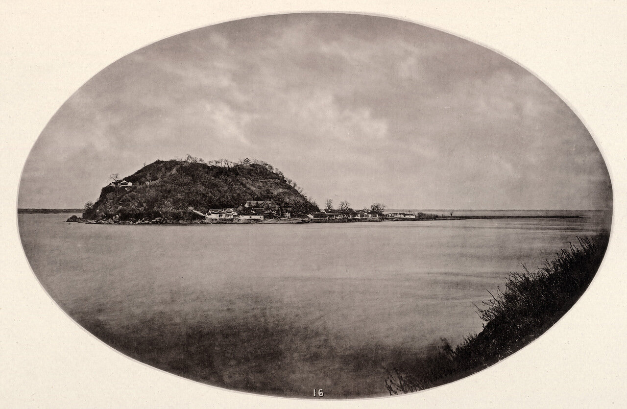 Река Янцзы. Серебряный остров