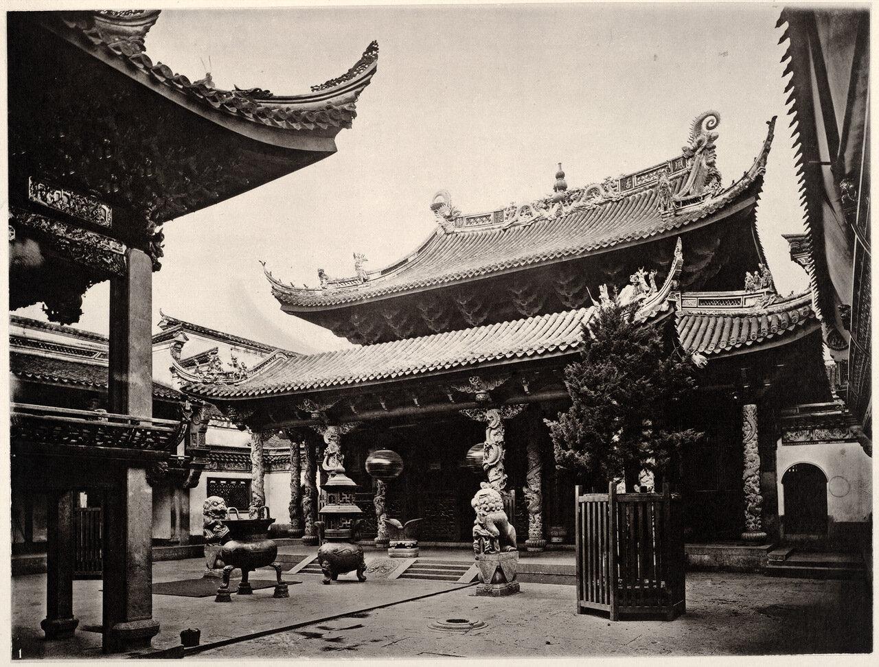 Храм в Нинбо