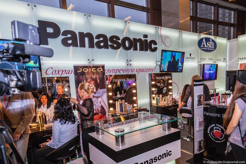 На стенде Panasonic