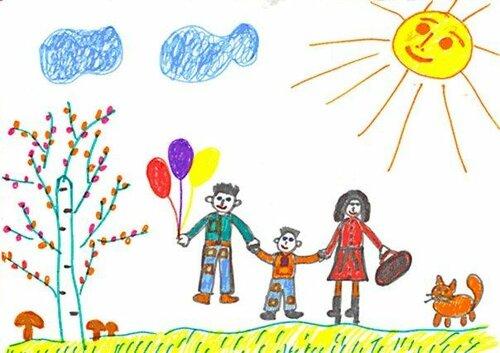 «Рисунок семьи» — одна из